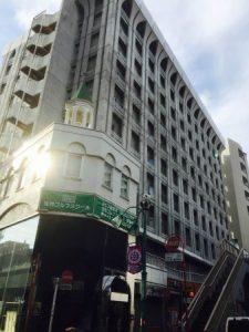 ゴールドジム笹塚が入るホテルブーゲンビリア新宿