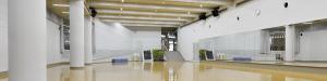 『MANA STYLE90~いっぱい動いChai maxx Aero Final~』が行われる東京体育館のスタジオ